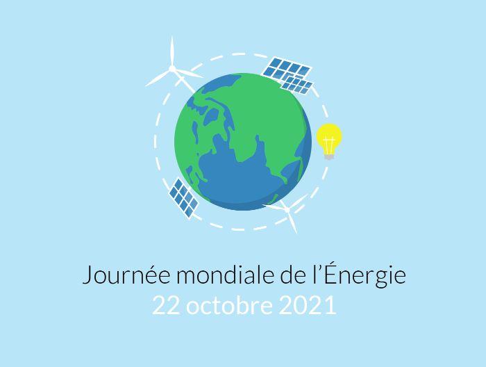 Photo de la dernière actualité - À venir, la Journée Mondiale de l'Énergie 💡