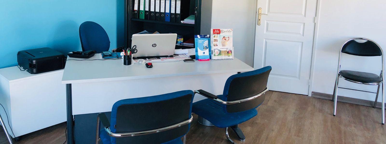 photo intérieure de l'agence de Aubenas