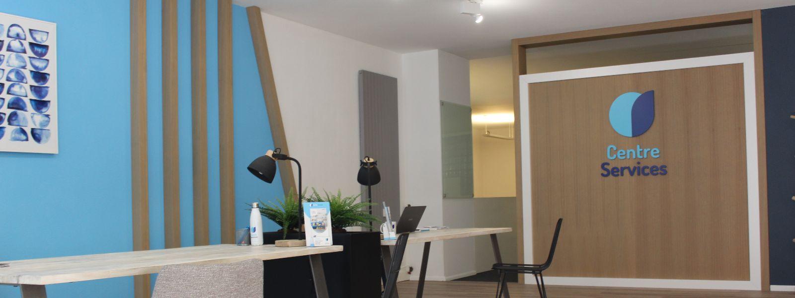 photo intérieure de l'agence de Mulhouse