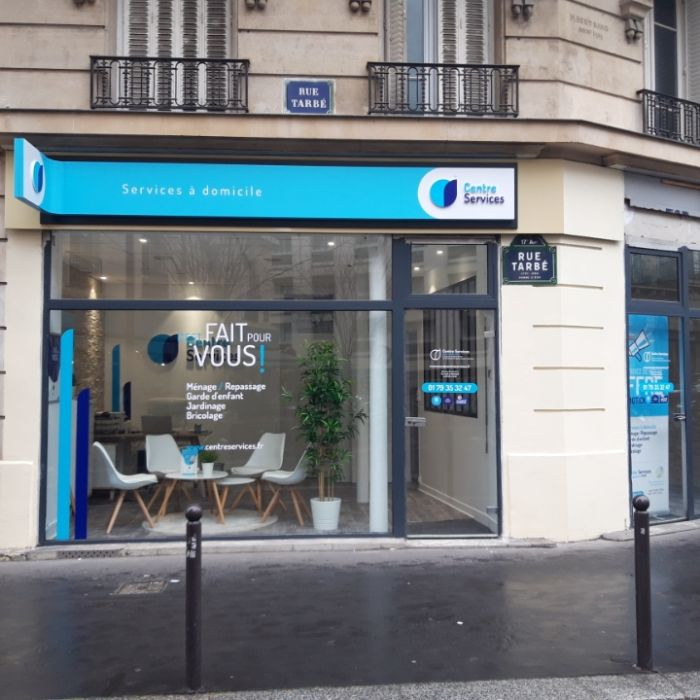 Photo de la vitrine de Paris 17