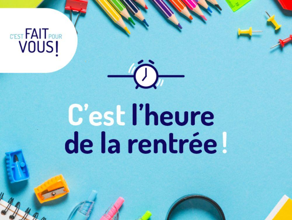 Illustration Centre Services - C'est la rentrée !