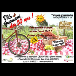 Edition 2017 du vélo Gourmand