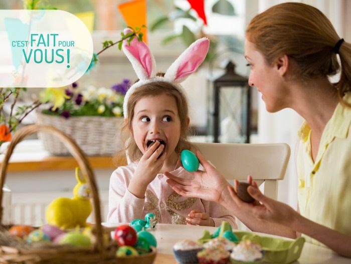 Profitez pleinement des fêtes de Pâques en famille 🔔