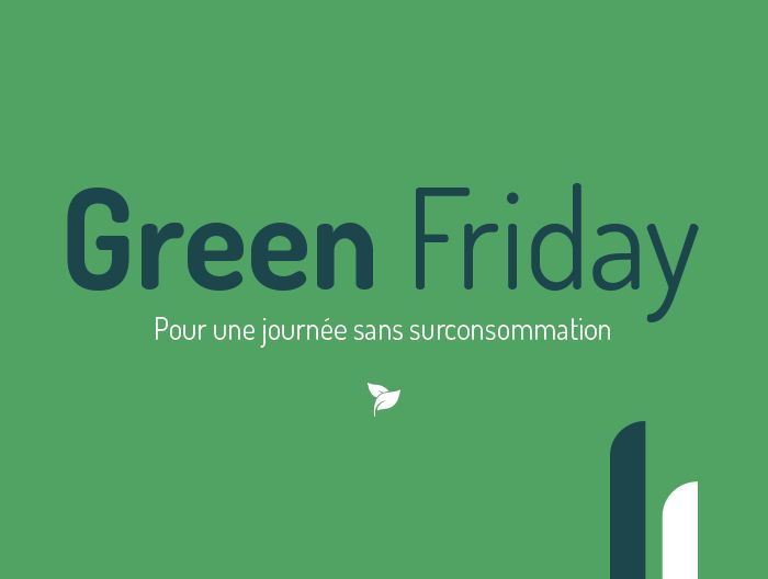 Illustration Centre Services - Vendredi 29 novembre passez au Green Friday 🌱  🌿