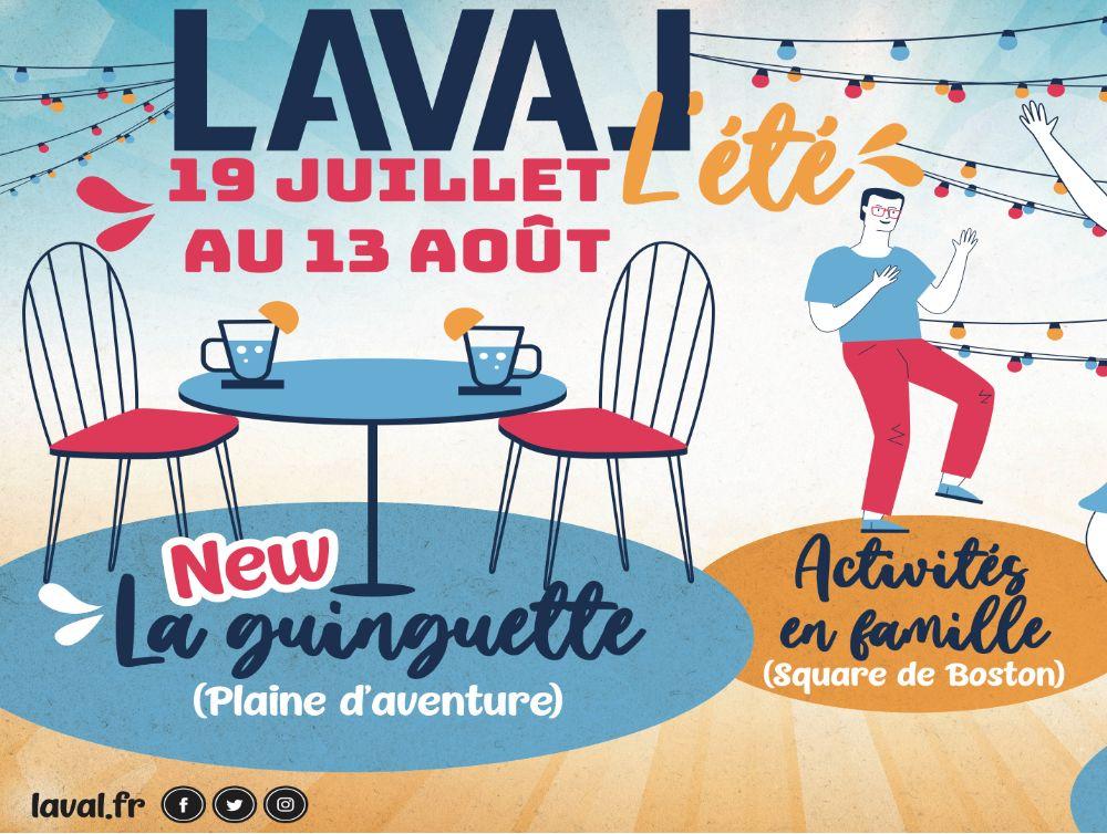 Une programmation estivale festive à Laval